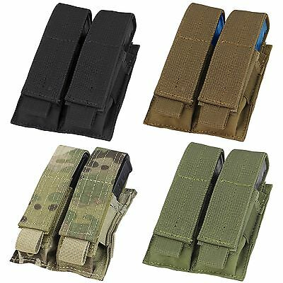 Condor MA23 Tactical MOLLE PALS Modular Closed Top Double Pistol Magazine Pouch