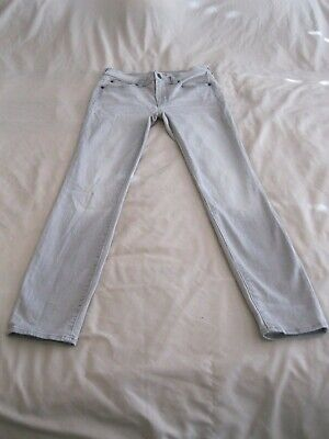 Womens Skinny Jeans Size 18 Stretchy Distressed Pants Bottoms Made Brazil Marisa