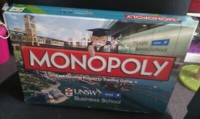BN SEALED MONOPOLY UNSW BUSINESS SCHOOL - LIMITED EDITION by HASBRO