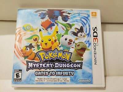 Pokemon Mystery Dungeon: Gates to Infinity (Nintendo 3DS, 2013) - CIB