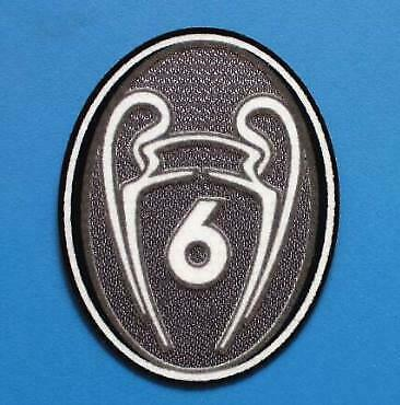 Champions of Europe LFC KOP 6 Trophy Liverpool Jersey Shirt Iron On Patch Badge