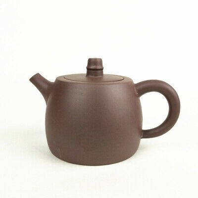 300ml Archaistic Bell ZiSha Teapot Gift Chinese Kung Fu Purply Clay Tea Set Pot