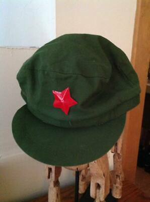 Chinese Mao Communist Hat real deal purchased in Russia