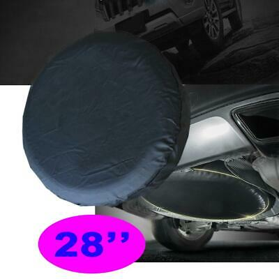 "Heavy Duty Vinyl 28"" Trailer Rear Spare Tire Tyre Wheel Cover Case Bag Protector"