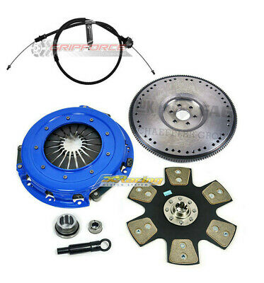OEM HD SPORT CLUTCH KIT and 157RG FLYWHEEL for 1981-1995 FORD MUSTANG 5.0L 302ci