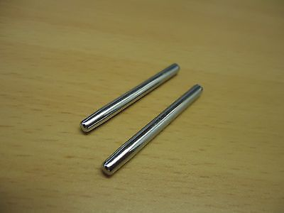 singer sewing machine metal spool pin x2 (knock in) 201k,99k,185k,15k,etc,etc.