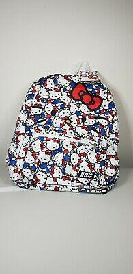 Hello Kitty Kids Backpack School Bag NEW with tags