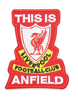 Limited Liverpool LFC Anfield Jersey Shirt Embroidered Iron On Sew Patch Badge