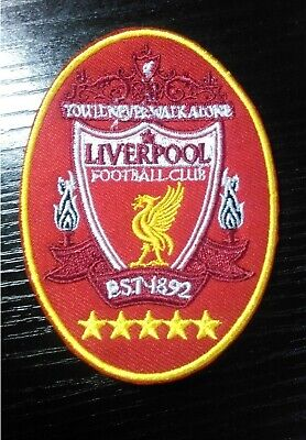 Large Liverpool LFC Anfield Jersey Shirt Embroidered Iron On Sew Patch Badge
