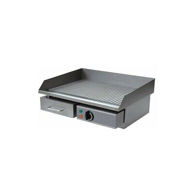 Mount Plate Fry Top Electric Eco - Floor Stainless Steel Lined