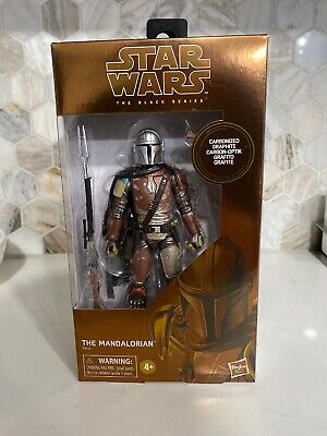 "Star Wars The Black Series 6"" Carbonized Mandalorian TARGET EXCLUSIVE - IN HAND"