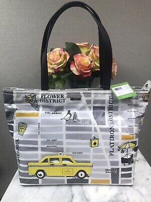 NWT Kate Spade Nouveau New York Yellow Taxi Cab Francis Tote Bag