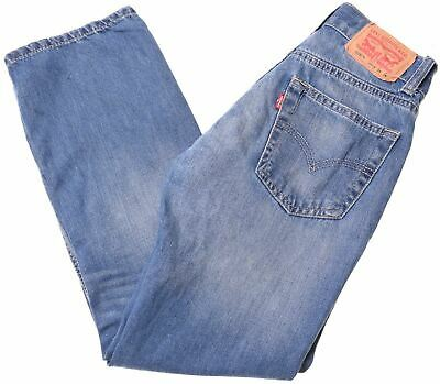 LEVI'S Boys 505 Jeans 11-12 Years W24 L26 Blue Cotton Straight  MF04