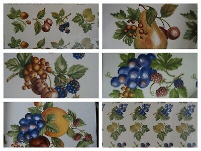 Cookson Matthey Waterslide Transfers. Fruit 97 images. Grab Bag. Free Shipping