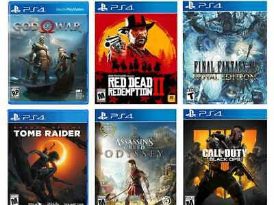 Sony Playstation 4 (Ps4) Games || Various Titles All Vgc || ***Fast Free Post***