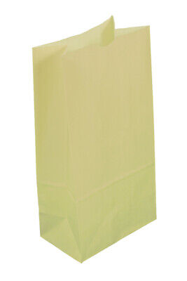 **Closeout Price - Limited Quantity** 500 Medium Cream Paper Lunch Bags 8# SOS