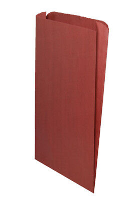 **Closeout Price - Limited Quantity** Red Gusseted Paper Bags 16 x 3 3/4 x 24