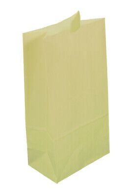 *Closeout Price* 500 Small Cream Paper Lunch Bags - 4# SOS (5 x 3 1/8 x 9 5/8)