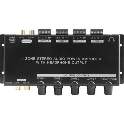 Pro2 PRO1300 Four Zone 12 Volt Stereo Power Amplifier - RRP $275.00