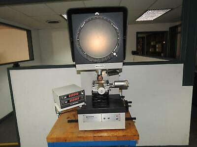 "Mitutoyo PJ-300 Bench Top 12"" Screen Optical Comparator with 2-axis DRO"