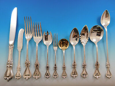 Old Colonial by Towle Sterling Silver Flatware Set for 8 Service 100 pieces