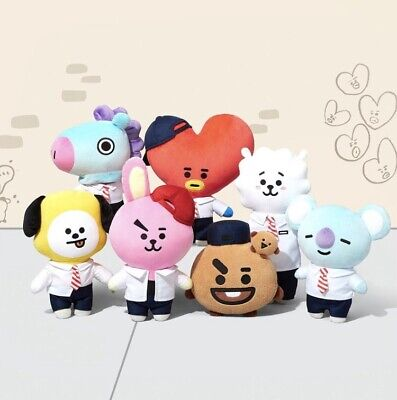 BTS BT21 Official Authentic Merch Afterschool Plush Standing Doll + Tracking
