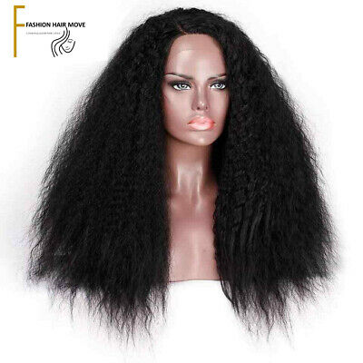 Beautiful 26 Inch Long Curly Synthetic Wig Natural Looking Heat Resistance Fiber
