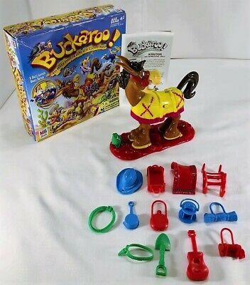 2004 Buckaroo The Saddle Stacking Game by Milton Bradley Complete in Good Cond