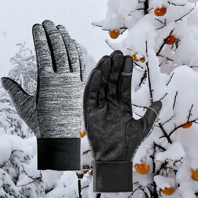 Men Women Winter Warm Windproof Windproof Thermal Touch Screen Gloves Mittens US