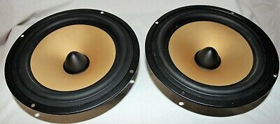 """8"""" Woofer made with Kevlar, paper composite 3.4 Ohm European speaker qty2"""