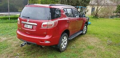 Holden Colorado 7 LTZ RG 2014 2.8 intercooler turbo diesel 7 seater.