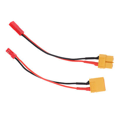 2pcs XT60 Male to Female Y Splitter Adapter for RC Car Plane or Boat Battery