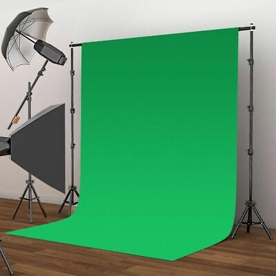 Chromakey Green Screen Muslin Backdrop for Studio Lighting Kit Photography