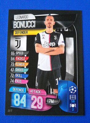 Topps Match Attax Champions League 2019/20 2020 #Juv 17 - Bonucci - Juventus