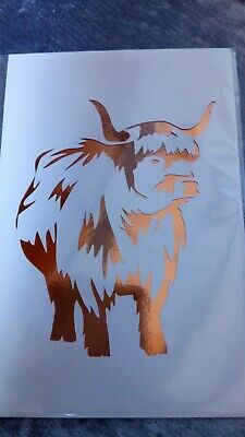 5x7 picture mount or stencil coo
