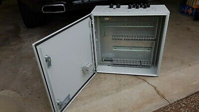 500 x 500 x 220mm Industrial Control Cabinet Electrical Enclosure with DIN rails