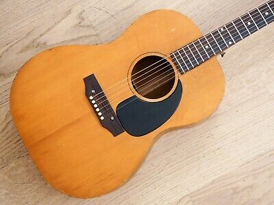 1968 Gibson LG-0 Vintage Acoustic Guitar Spruce Top w/ Case, Barcus Berry Pickup