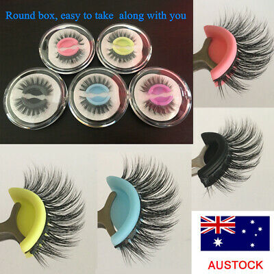 Luxury 3D Mink False Eyelashes Wispy Fluffy Thick Long Lashes Makeup Extension