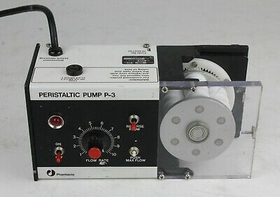 Pharmacia Peristaltic Pump P-3