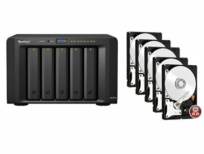 Synology DiskStation DS1513+  with   5 Disks  x 2TB ( 10 TB)