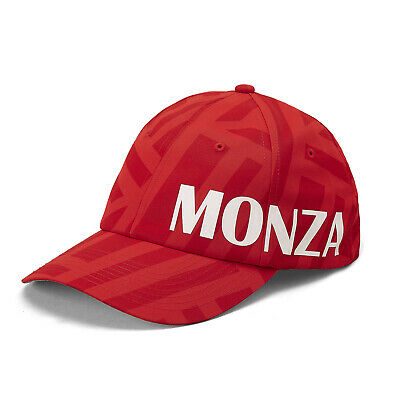 2019 Scuderia Monza Baseball Cap Hat Red Adult Sizes Official Merchandise