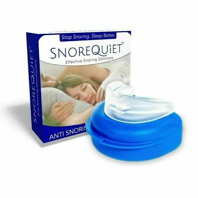 SnoreQuiet Mouthpiece Custom Moldable Guard Snore Stopper and Bruxism Solution