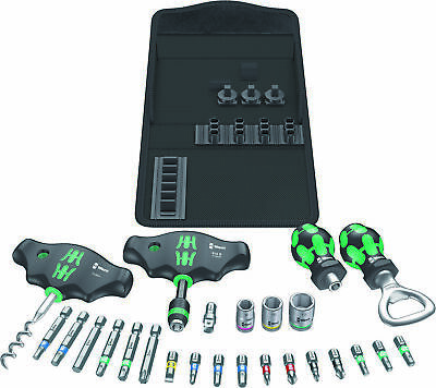 Wera Tool Kit Screwriver Bits & Accessories + Sockets & Bottle Opener/Cork Screw