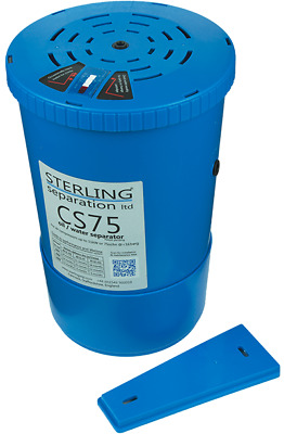 STERLING SEPARATION CS75 COMPRESSED AIR OIL/WATER SEPARATOR for up to 11KW