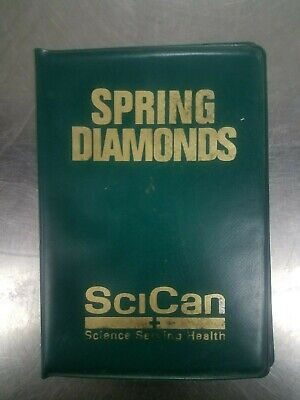 SciCan Spring Assorted Diamond Burs Wallet (49 Burs)