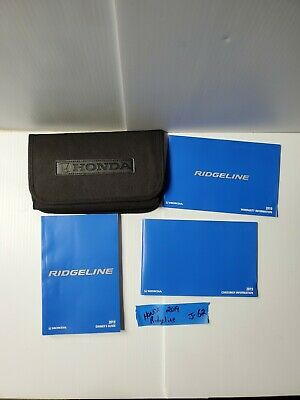 2019 Honda Ridgeline owners manual with case OEM 19 free shipping
