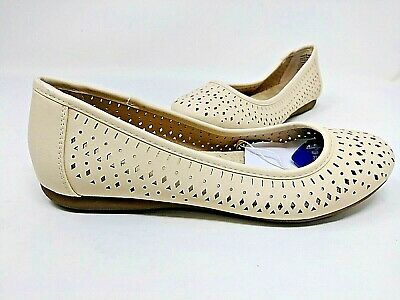 Croft and Barrow Women/'s Gertie Wedge Flats Strap Accent  #129177 39T tp NEW