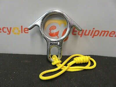 1 CMI Rescue 8 Descender Ropes NFPA Grey One Each