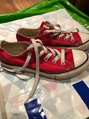 Red Converse Size 13