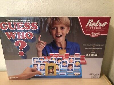 Hasbro GUESS WHO Classic Retro Kids Game - Brand New